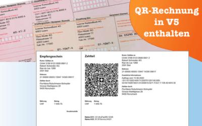 Update zur QR-Rechnung ab 1.7.2020