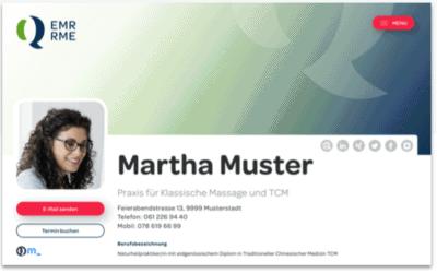 EMR Verzeichnis, Integration Buchungsbutton